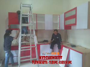 Jagonya pembuat Kitchenset yang termurah di Karawang Kecamatan Cilamaya Kulon