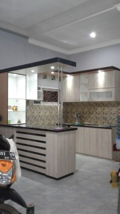 Menerima order pembuatan furniture  Kitchenset  jempolan di Subang Kecamatan Dawuan